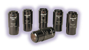 The Achrovid Series of objectives for the Infinity InFocus™ Model KC Video Microscope.